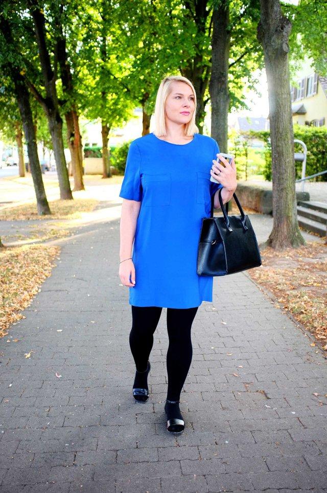 lipoedem mode outfit schwarz royalblau kobaltblau medi