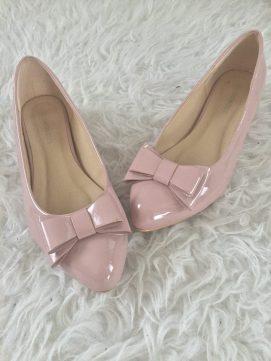 karneval fasching lipödem mode schuhe rosa schleife ballerina
