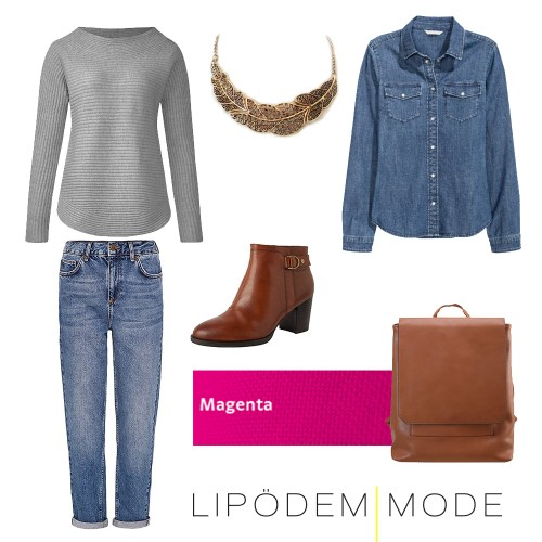 Casual Friday Outfit lipödem mode