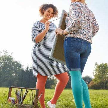 lipödem mode medi trendfarben 2017 koralle jeansblau mintgrün