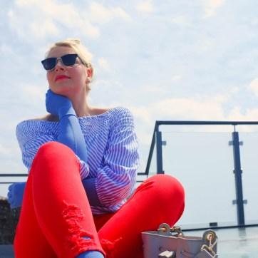 lipoedem mode outfit jeansblau medi kompression caroline sprott