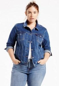 lipoedem mode Jeans Jacke