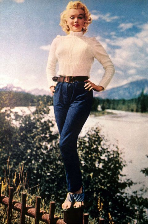 lipoedem mode marilyn monroe denim jeans