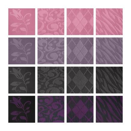 lipoedem mode medi pattern 2018 purple pink flower flat knit flatknit lipoedema lymphedema lymphoedema lipodema