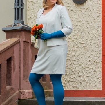 lipödem mode aqua mediven 550 medi caroline sprott plus size outfit braut bride hochzeit wedding standesamt