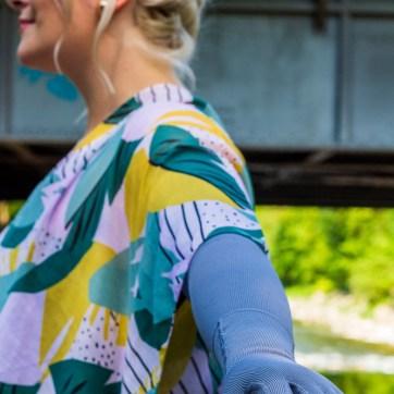 lipödem mode grau mediven 550 strumpfhose armstrümpfe kimono plussize outfit caroline sprott