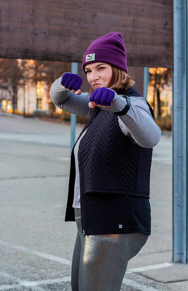 sport arm kompression mediven 550 violett plus size outfit blogger lipödem lymphödem lipedema lymphedema fasion mode caroline sprott medi