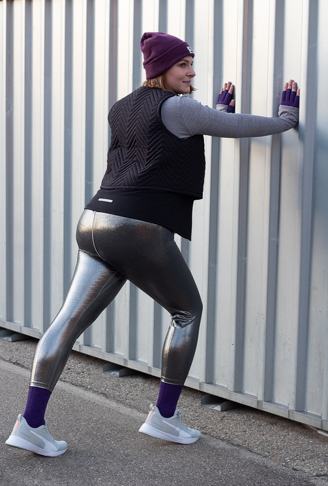 sport with active with lipedema and compression metallic tight plus size outfit lymphedema lymphedema lipedema lipoedema