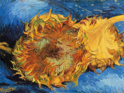 Van Gogh: Two Sunflowers