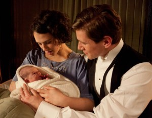 Lady_Sybil, Tom_Branson_and_their_baby_daughter