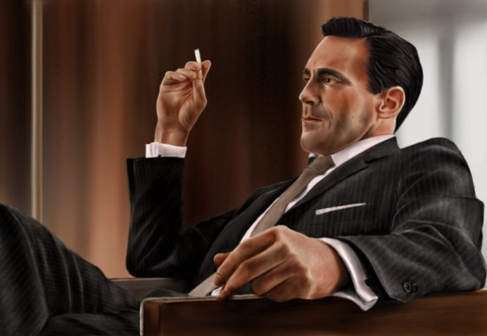 Don Draper Fan Art