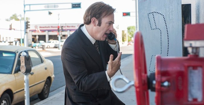 Better Call Saul--Nacho--Saul at the phone booth