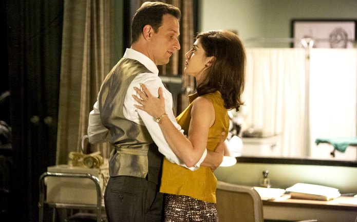 Masters of Sex, Two Scents, Josh Charles and Lizzy Caplan dancing