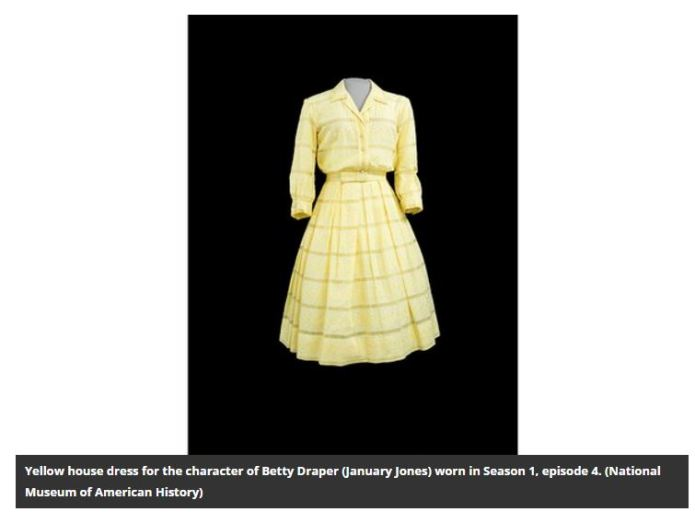 MM Smithsonian Betty's dress