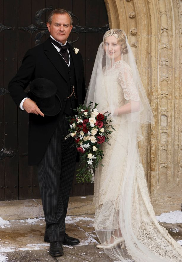 Downton Abbey: Edith's wedding day