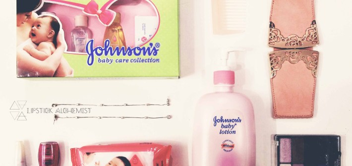 Johnson's baby products for adults Lipstick Alchemist