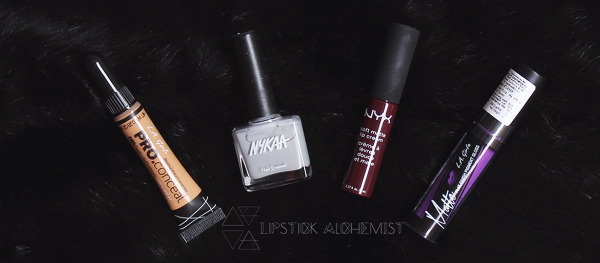Nykaa Exclusives Nyx LA Girl Review Swatch Pics Brown Indian Skin