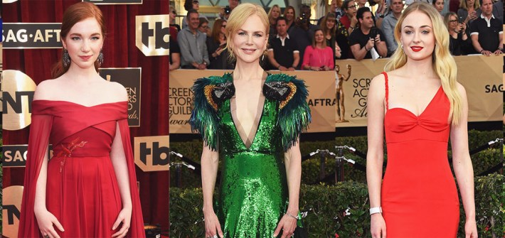 SAG Awards Best Dressed 2017