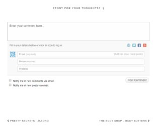 Jetpack comments system
