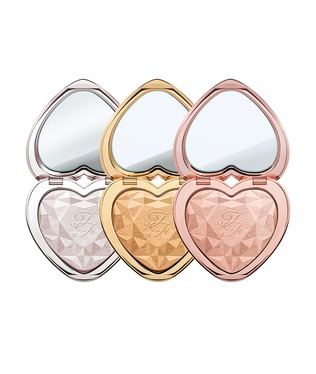 The Love Light Prismatic Highlighters in Blinded by the Light, You light up my Life and Ray of Light.