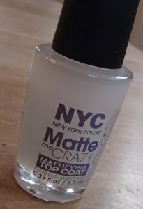 NYC Matte Topcoat