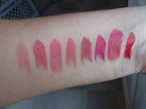 Givenchy Le Rouge Swatches