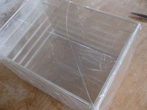 Muji drawer - damaged