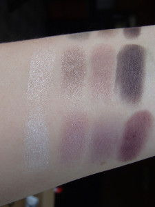 Tom Ford Orchid Haze vs Crushed Amethyst Swatches
