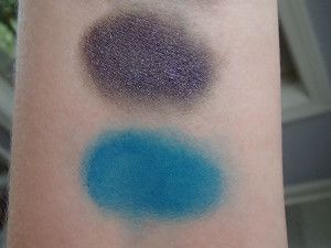 NARS Eye Paint Swatches - Tatar and Solomon Islands