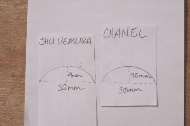 Chanel vs Shu Uemura Eyelash Curler