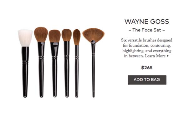 Wayne Goss Face Set