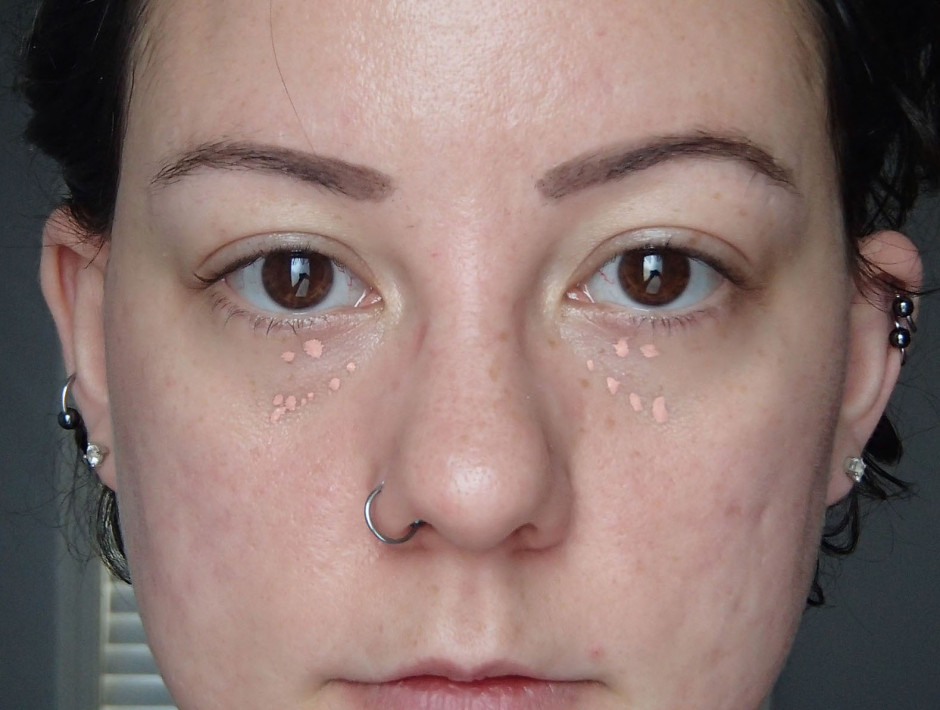 Undereye bag tutorial