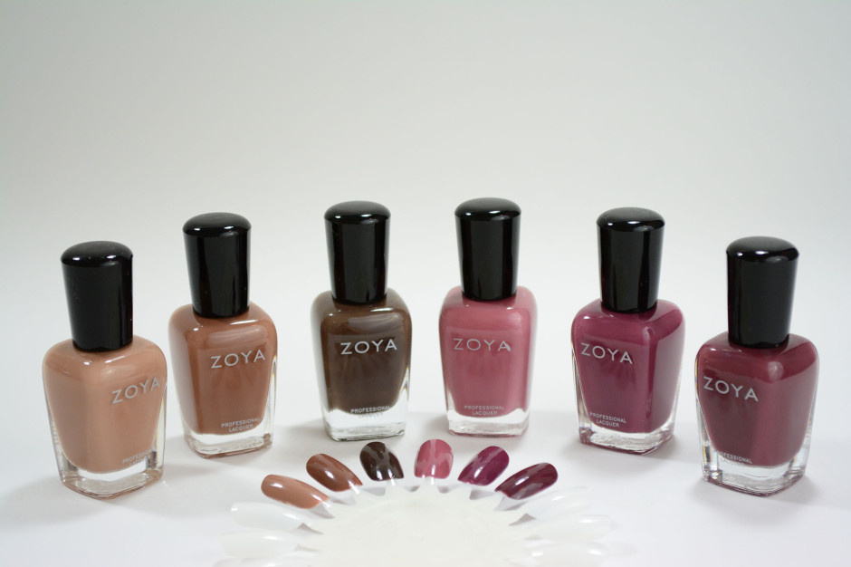 Zoya Naturel Deux Swatches