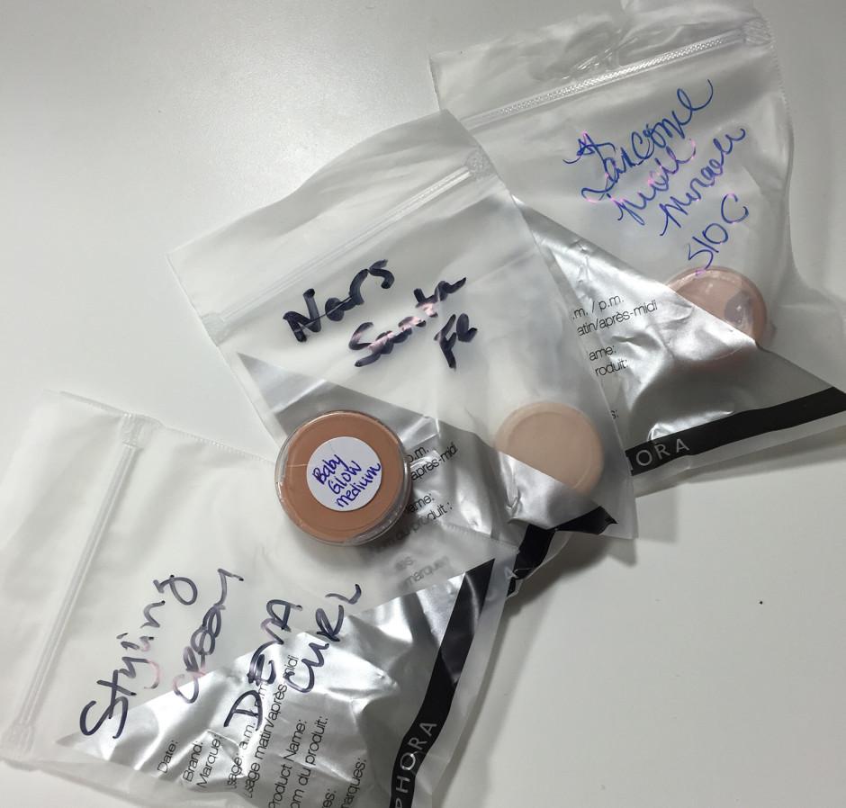 Foundation samples