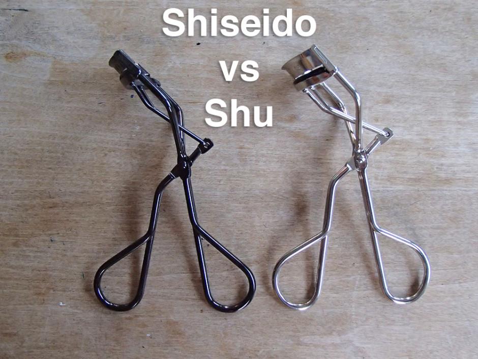 Shiseido vs Shu Uemura Lash Curler
