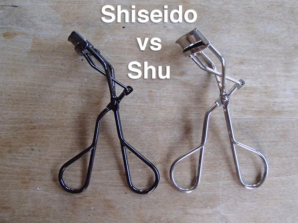 Review & Comparison: Shu Uemura vs Shiseido Eyelash ...