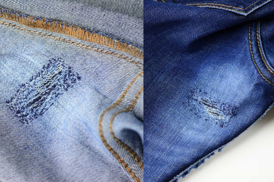 Denim Therapy Review - home repair attempt