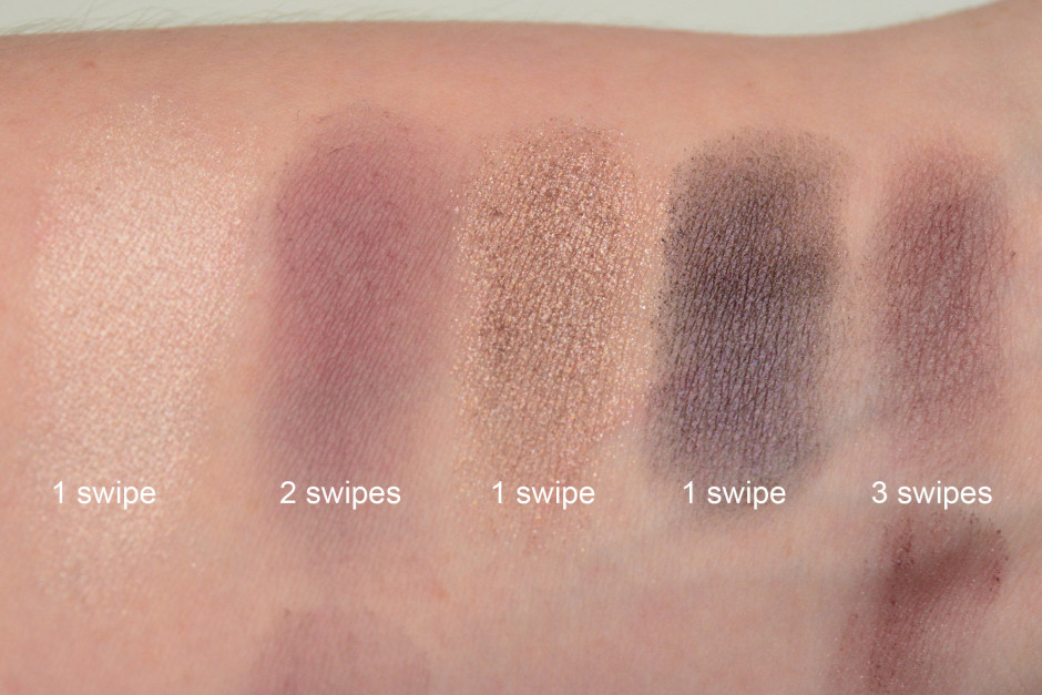 Ulta Artistry Eye Shadow Kit Swatches