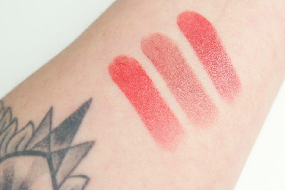 Shiseido Rouge Rouge Lipstick Swatches