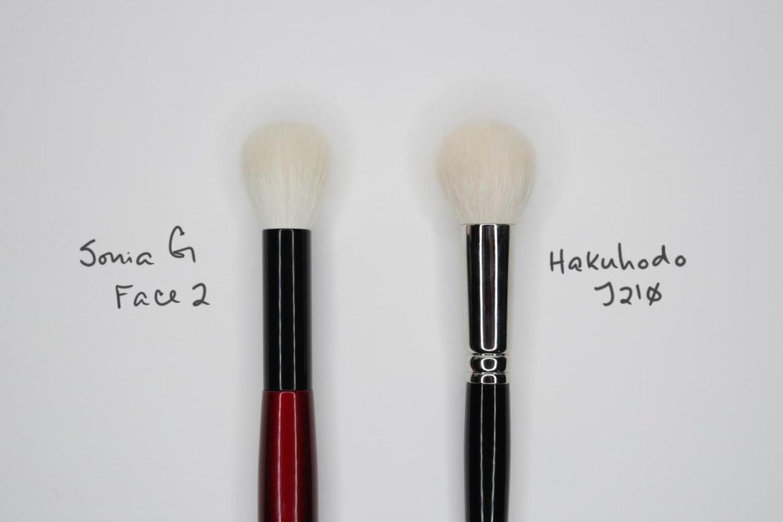 Sonia G Face 2 vs Hakuhodo J210