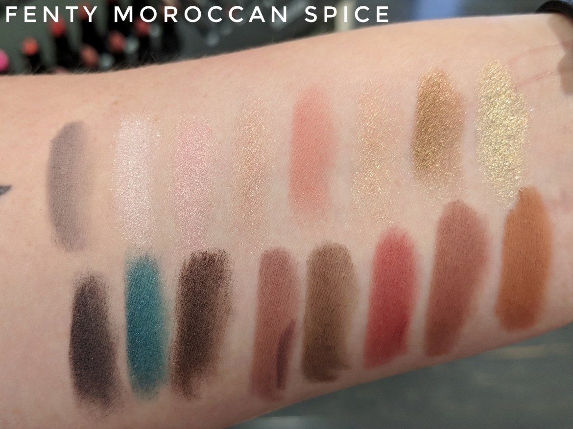 Fenty Beauty Moroccan Spice Swatches