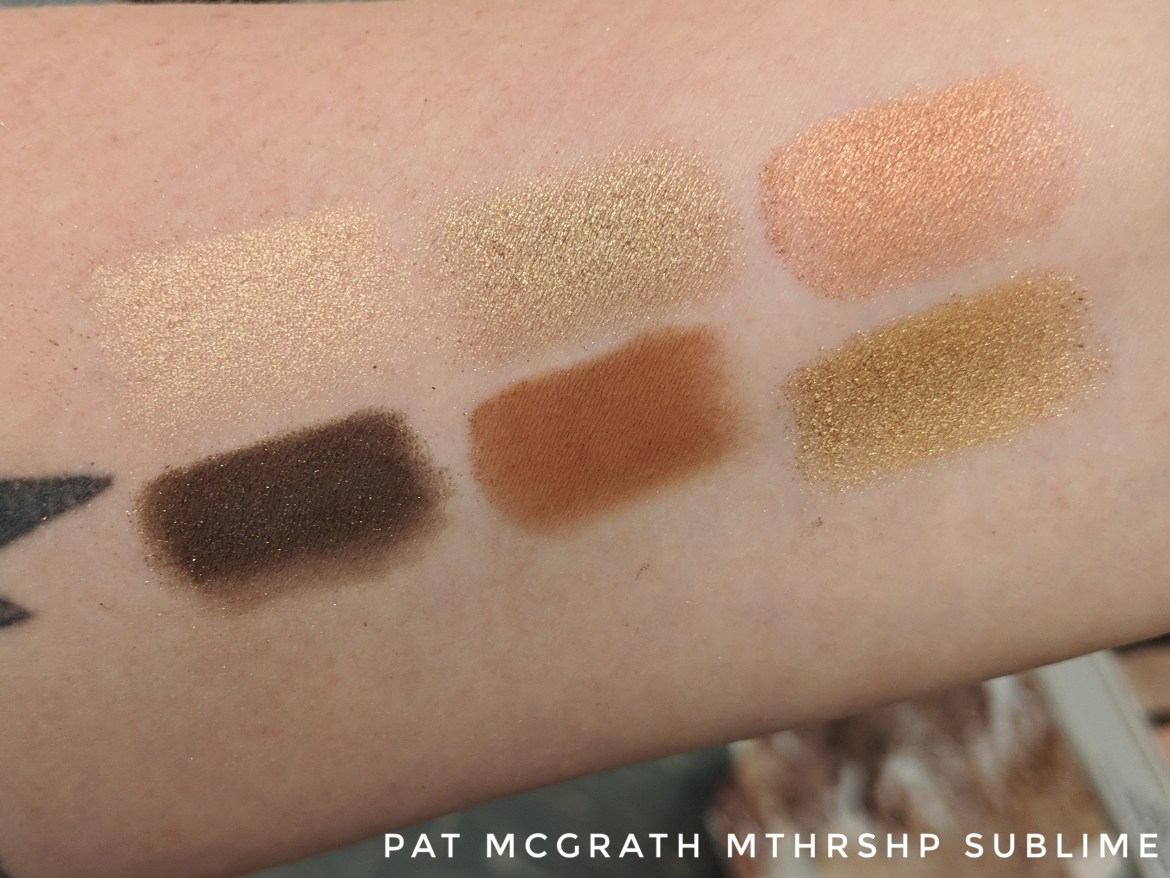 Pat McGrathMTHRSHP Bronze Ambition Swatches
