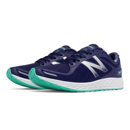 New-Balance-Women-s-Fresh-Foam-Zante-v2-Shoes-AW16-Cushion-Running-Shoes-Blue-Clearance