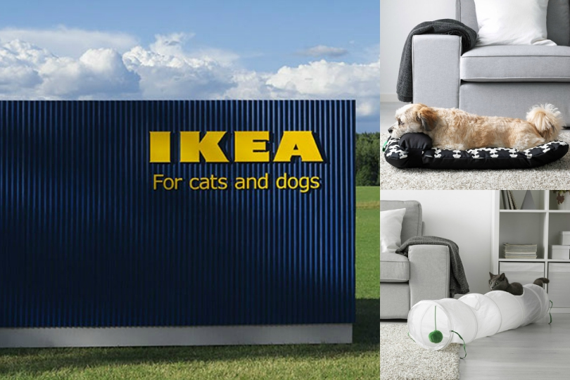 Lurvig Ikea S Chic Pet Furniture Collection Is Purrfect For Our