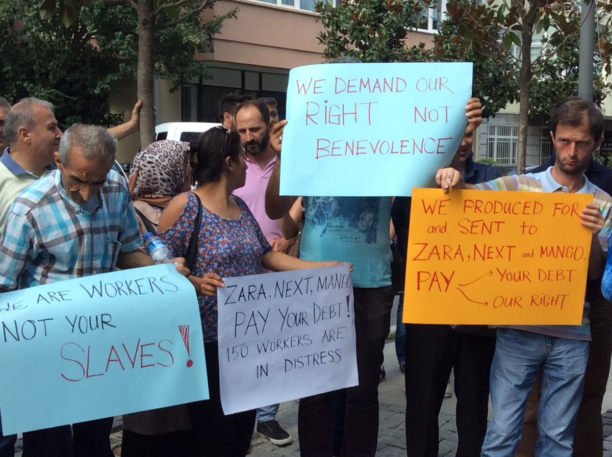 9c33748e Zara Shoppers Find Alarming Notes From Unpaid Factory Workers ...