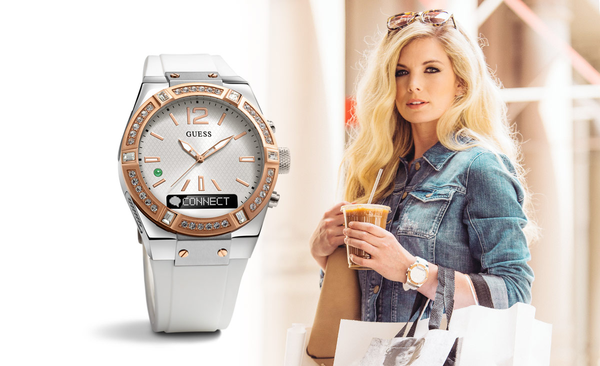 3e61dc217f77ca Guess Connect Is The Perfect Luxury Smartwatch For Sensible Trend-Setters
