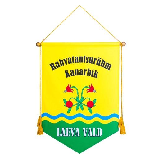 Logoga kandevimpel