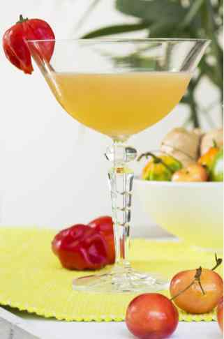 Peach & Scotch Bonnet