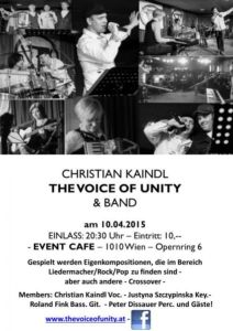 Voice of Unity - Support 10 April 2015