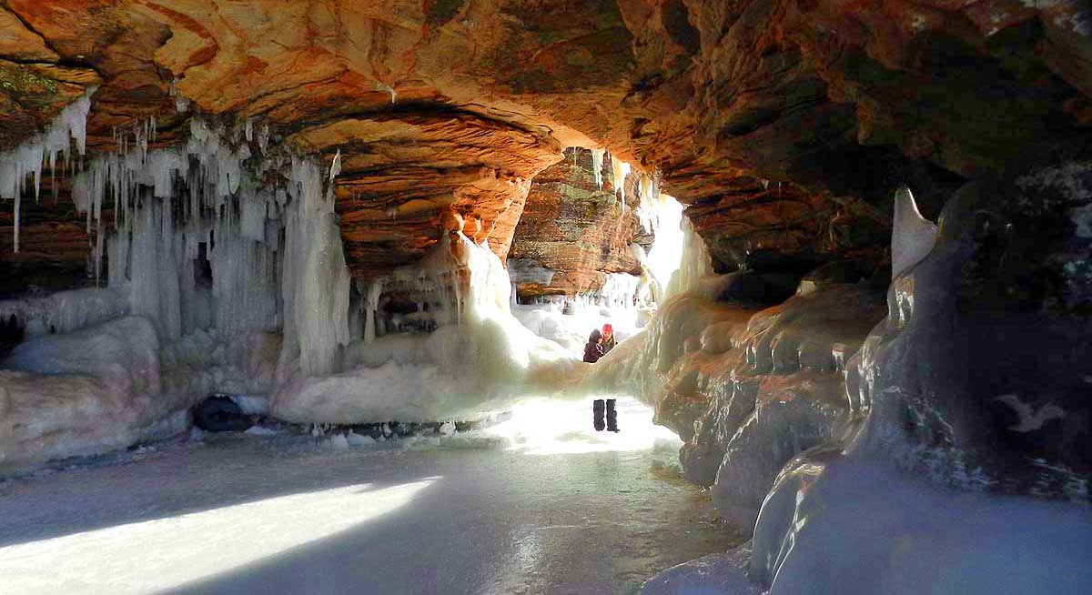 Apostle Islands National Park Ice Caves